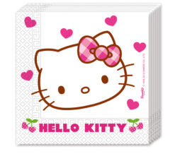 Prtički servieti Hello Kitty