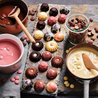 Čokoladna dekoracija in izdelki iz čokolade