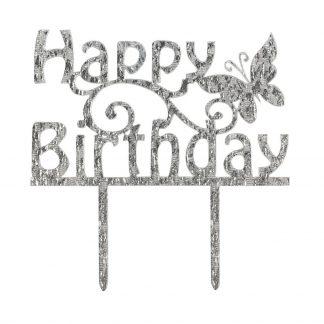 Topper za torto happy birthday