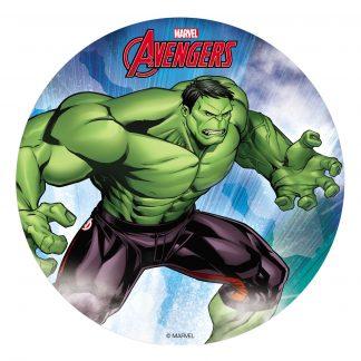 Hostija za torto Hulk