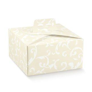 Kvadratna škatla za torto