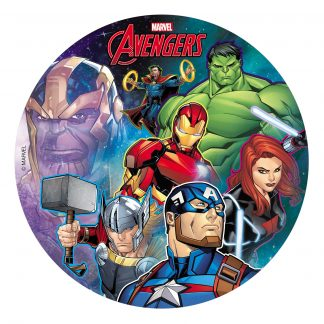 Hostija za torto Avengers