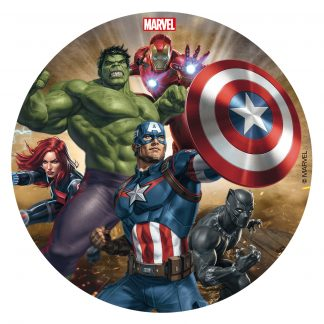 Hostija za torto Avengers junaki
