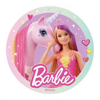 Hostija za torto Barbie