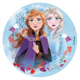 Hostija za torto Frozen Ana in Elsa