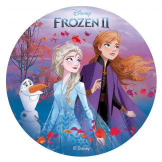 Hostija za torto Frozen II
