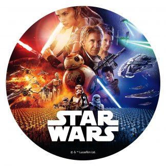 Hostija za torto Star Wars - Vojna zvezd