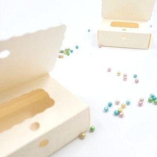 Škatlica za konfete skrinjica