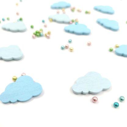 Okrasek za škatlico Oblak moder