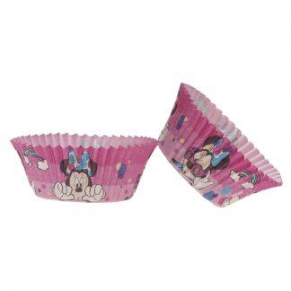 Papirnate posodice za muffine Minnie Miška 25 kos