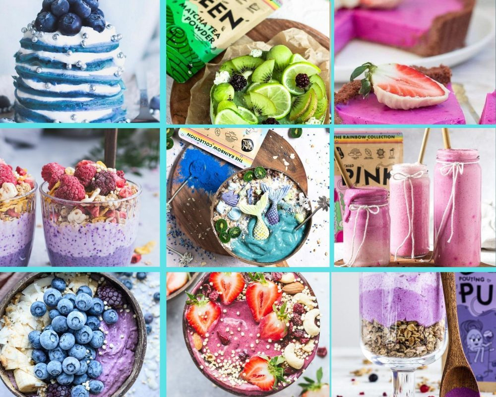 Kako uporabiti naravne jedilne barve (superživila) Rawnice