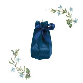Škatlica za konfete Mošnjiček Moder