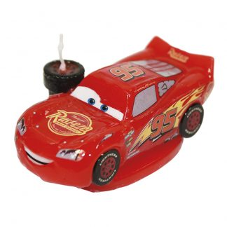 Svečka za torto Cars
