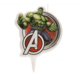 Svečka za torto Hulk