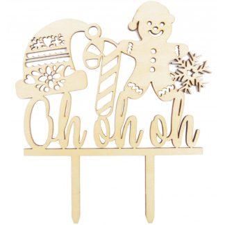 Topper Božič lesen