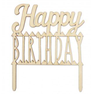 topper Happy Birthday lesen