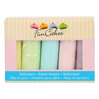Sladkorna masa pastelni mix