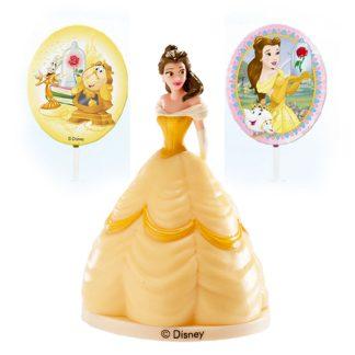 Figurica za torto Princesa Bella komplet