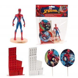Komplet dekoracija za torto Spiderman