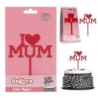Topper I love Mum